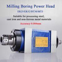 Bohrfräsen Bohrmaschine Werkzeugmaschine Werkzeugspindel CNC Spindel BT30 / MT3 / ER25 / ER32 Werkzeugtransformation