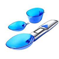 Digital Spoon Scale 500g / 0.1g 300g / 0.1g di misura elettronico Cucchiaio Bilance Cucchiaio LCD Strumenti di misura di peso GGA3121-1