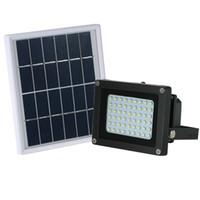 Светодиодный прожектор Открытый прожектор Прожектор Водонепроницаемый Профессиональный солнечной Powe освещения Лампа для ландшафтного сада Street