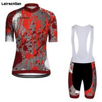 SPTGRVO LairschDan Pro Cycling Femmes Vêtements VTT Vélo jersey Set vélo Haut Bas rembourré Femme Vélo de course à vélo Kit