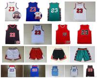 De calidad superior! Carolina del Norte 23 Colegio Michael Jersey Vintage baloncesto de la universidad 96 All Star Baloncesto retro pantalones cortos de deporte Jersey