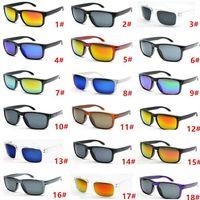 Heißer Verkauf Designer Sonnenbrille Für Männer Sommer Schatten UV400 Schutz Sport Sonnenbrille Männer Sonnenbrille 18 Farben