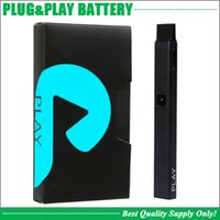 Melhor qualidade Plug Play Bateria 550mAh Airflow Ativado Inserção De Inserção De Inserções De Inserções Do Cartucho Vape Pen 100% Mesmo Original
