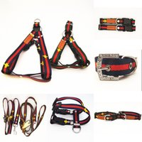 Trend Dog Collars Nylon Pet Traction Rope Suit Outdoor Dog S...