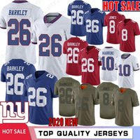 26 Saquon Barkley New Jerseys 8 Daniel Jones Jerseys 10 Eli ...