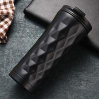 Acciaio inossidabile di vuoto della tazza di sport esterni Bottiglia arrampicata portatili di grande capienza delle bottiglie di acqua di viaggio termica Coppa Leak Proof FY4129 Mug