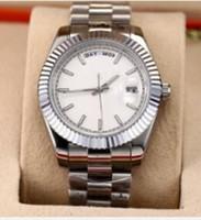Varios colores de moda reloj de los hombres de 40 mm 228239 Dial Negro Oro Plata Pulsera de acero de Asia 2813 automático de lujo del envío del reloj libre