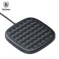 Baseus BSWC - P13 schnell Wireless-Ladegerät Woven Leather Charging Pad 10W