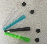 vape 110mm emballage rouleau pré plastique tube conique de préenroulement de doob cônes de tabac porte-joints clairs avec couvercle blanc fabricant de cigarettes à la main