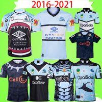 2020 2021 Cronulla-Sutherland Sharks Rugby Jersey 2016 2016 Indígena Camiseta Vintage League Jerseys Retro Blackshark Hero Edition