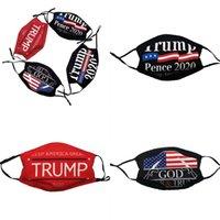 Trump Yüz Amerika Ulusal Bayrak Respiratörü Takılabilir Filtre Ağız mascarilla Rüzgar kesici E2 5zc Koruyucu Unisex İyi 3 Nefes Maske
