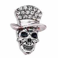 Yoursfs bon marché Broche Halloween broche Broche Skull Broche Vintage Chine China Factory Pin direct Hommes Épingles de revers pour costumes Broche mâle Pinches cool