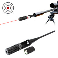 HQ Tactical Rifle Sight Scopes Calibrator .22 tot .50 Aiming Pointer Kit Red Dot Laser Free