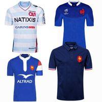 Novo Estilo 2019 2020 França Super Rugby Jerseys 18 19 20 França Camisas Rugby Maillot De Foot Francês Boln Rugby Camisa Tamanho S-5XL