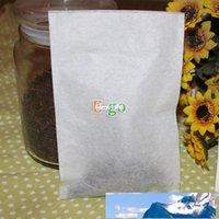 """Ferramentas de chá Livre 100 pcs de alta classe (l) 4 """"x6"""" 100x150mm saquinho de chá de vedação de calor vazio, flor ou ervas, sacos de papel de filtro, para o preço de fábrica de bule Qualidade de design"""
