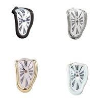 Zegarki zegarkowe zegarki z tworzywa sztucznego okrągły Roman Rysunek Zegar ścienny Klasyczny Warp Bell Strona główna Hotel wyposażenie stołowych rogów 18wy C2