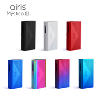 Original Airis MYSTICA III 3 Variable Voltage 350mAh Box Mod Cartridge Batterie Mystica V3 Wiederaufladbare vorheizen VV Batterie für Öl Cartridges