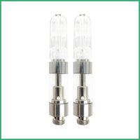 Cartucce VAPA Punta piatta in vetro Serbatoio Vape per Brass Knuckles Vape Pen Atomizzatore Personalizzato Imballaggio personalizzato VAPorizing vaporizzatore