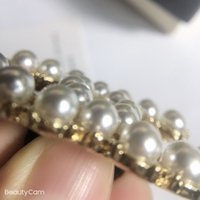 4.5x3cm oro in lega di perle c lettere clip per capelli per capelli con timbro una parola clip da donna collezione gioielli di lusso gioielli copricapo vip regalo 3pcs / lo