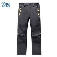 TRVLWEGO Ski Pants Hiking Camping Sports Winter Boy Girl Nig...