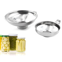 Filtro della tramoggia del canning della bocca larga dell'acciaio inossidabile per ampi vasi regolari della cucina Utensili da cucina JK2007KD