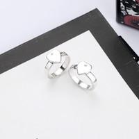 Anello placcato Beset d'argento di vendita di alta qualità dell'anello della lega Top Ring di qualità per la donna gioielli di moda personalità semplice alimentazione