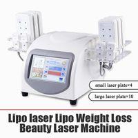160 МВт диодный липо лазер LLLT жир сжигание антицеллюлитного тела, скульпция 14 подушек красоты для похудения Машина SPA