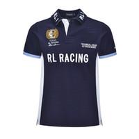 RL гонки Big Pony Бразилия Испания Аргентина ОАЭ Германий США ITALIA F1 гонки рубашки поло гонки F1 хлопок лошади