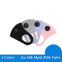 Face Mask Anti-Dust Earloop with Breathing Valve Reusable Mouth Masks Soft Breathable Anti Dust Protective good quality