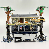 In Stock 25010 2499Pcs Movie Series The Upside Down Building...