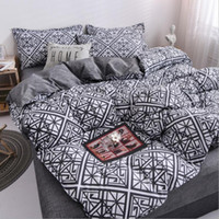 New Designer Bed Comforters Sets Luxury 4PCS Home Bedding Set Jacquard Duvet Bed Sheet Twin Single Queen King Size Bed Sets Bedclothes