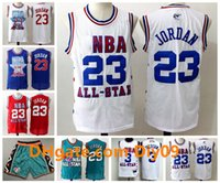 Mens 23 Michael JD Retro White Blue Red Green Throwback