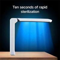 Amazon BestSellers UVC Désinfection Lights Handheld Mini Sanitizer Stérilisation Lampe Voyage Wand Lampe de poche Ménage Toilette Car Pet