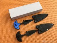 Promosyon! kılıf ile Soğuk çelik kasa Makinesi Bahçe aletleri Bıçak Mini Sabit bıçak bıçak Tam tang 440 paslanmaz çelik bıçak bıçak