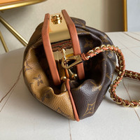 Classic lady' s handbag 7A high- end custom quality handb...
