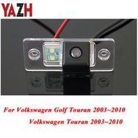 YAZH HD 자동차 CCD 야간 백업 후면보기 카메라를 들어 폭스 바겐 투란 골프 투란 2003 년 2004 년 2005 년 2006 년 2007 자동 카메라