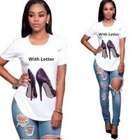 Donne Tee superiore Cotone Cut Pug Stampa donne della maglietta del O-Collo Femminile maglietta casuale nuovo progettista Ladies Tee Shirts Abbigliamento Femminile