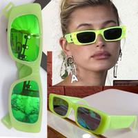 2020 официальные последние зеленые очки 0516S дамы дамы защиты специальный UV400 ретро небольшой площади кадра высшего качества с оригинальной коробке