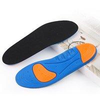 Sport Running Silicone Gel Plantillas Pies Hombre Mujeres Para Zapatos Suela Ortopédica Almohadilla Masaje Masaje Absorción de Choque Soporte