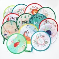 Free shipping (2pcs lot)Colorful Nylon Portable Folding Fan ...