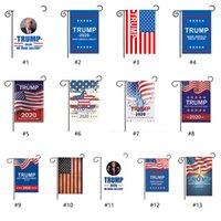30 * 45cm Trump Garten Flags USA President General Election Banner 2020 Trump Flag Wimpel Banner Ostern Flagge für Heim Yard Outdoor Decor
