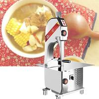 cuisine petite machine à scie à ruban de poulet 110V 240V coupe os de coupe d'os de viande scie machine à scie à os commercial