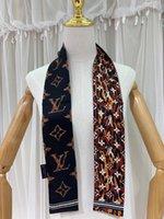 Шелковый шарф небольшой ленты для женской моды многоцелевой ленты для шарфа способа конструктора ленты esgdshsd