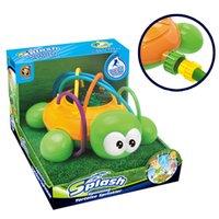 Cartoon Sprinkle Wasser-Schildkröte Spielzeug, Baby-Bad-Companion Sommer spielt im Wasser, im Freien Garten Drehbare Sprinkler, für Weihnachten-Kind-Geschenk, 2-1