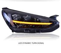 El estilo del coche para Ford Focus 2019 Faros El nuevo Focus 5 faros LED de señal dinámica LED DRL Hid Bi Xenon Accesorios para automóviles