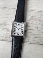 Горячая распродажа Новая мода мужчина часы из нержавеющей стали серебряный чехол белый циферблат мужские часы кварцевые часы 052-2 бесплатная доставка.