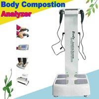 Fabrik-Preis erweiterte Full Body Analyzer für Fitness Score / Powerful Body Composition Analyzer / 5 Frequenzkörperfett-Scaler