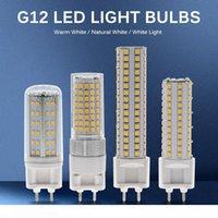 G12 LED Ampul Işık AC85-265V 10W 1000LM 15W 1500LM Yüksek Parlaklık SMD2835 LED Mısır Ampul Lamba