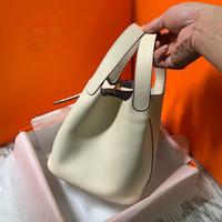 borsa morbida borsa secchiello in pelle borsa borsa 2020 nuova rete moda femminile cestino rosso versatile di grande capacità