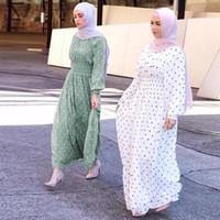 KALENMOS Рамадан Ид мусульманского платья Абай Турция Хиджаб Мубарак исламская одежда для женщин Дубая Кафтан Омана Robe ОАЭ Para Mujer